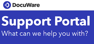 DocuWare Support Portal - What can we help you with?