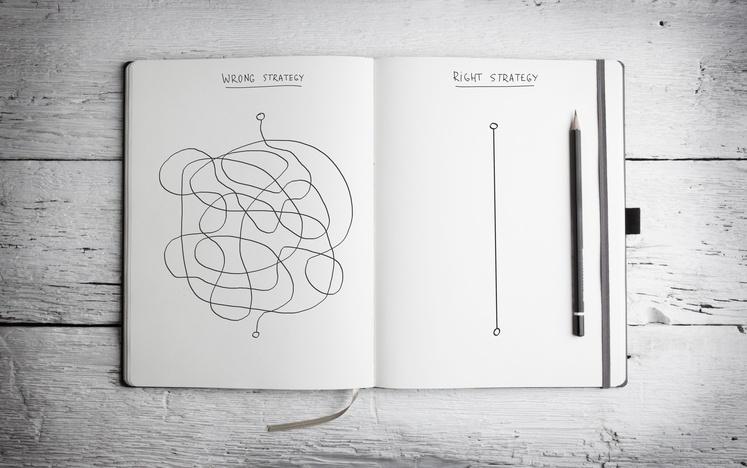 Simple vs complex graphic